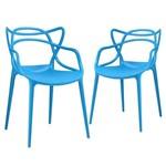 KIT - 2 X Cadeiras Masters Allegra - Azul