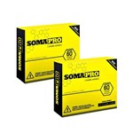 Kit 2x Caixas Somapro 60 Caps - Iridium Labs Complexo Ativador