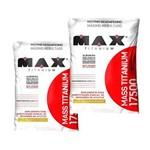 Kit 2x Massa Mass 17500 Hipercalorico 6kg Tot Max Titanium