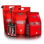 Kit 2x Nutriwhey Refil 900 + Dextrozz 1kg + Creatine Best 100g + Bcaa Best 120