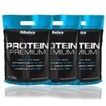 Kit 3x Protein Premium Pro Series 1,8 Kg