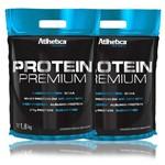 Kit 2x Protein Premium Pro Series - 1,8kg - Atlhetica