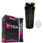 Kit X Tea Ella Series - 20 Sticks + Coqueteleira 600ml com Mola