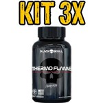 Kit 3x Thermo Flame 120 Tabs - Black Skull