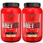 Kit 2x Whey 100% Pure (907g) - Integralmedica