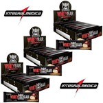 Kit 3x Whey Bar Darkness Integralmédica - 24 Barras