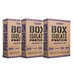 Kit 3x Whey Isolate Box 907gr Cada - Synthesize