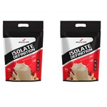 Kit 2x Whey Isolate Definition 1.8kg Cada (3.6kg) - Bodyaction Sabor: Baunilha