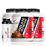 Kit 3 X Whey Isolate Definition 2kg (6kg) - Body Action