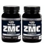 Kit 2 Zmc Carbon - Cálcio, Magnésio e Zinco 240 Cápsulas Unilife