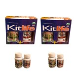 2 Kits Emagrecedor Herbis Life + Redu Life