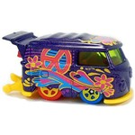 Kool Kombi - Carrinho - Hot Wheels - Tresure Hunt - Art Cars - 8/10 - 2017 - Ujmyt