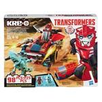 Kre-O Transformers Sideswipe Detona na Estrada - Roadway Rundown - Hasbro