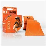 KT Tape Pro 20 Tiras Sintética Pre Cortadas Laranja