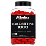 L-carnitine 1000 60 Tabletes Atlhetica Nutrition