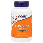 L- Proline 500 Mg 120 Cápsulas - Now Foods
