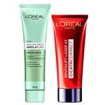 L'oréal Paris Kit - Cicatri-correct + Detox Argila Pura Matificante