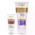 L'oréal Paris Solar Expertise Ganhe Solar Expertise Facial Antirrugas Kit - Protetor Solar Corporal + Protetor Solar Facial