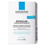 La Roche-Posay Effaclar Sabonete Dermatológico Antioleosidade Antiacne 80g