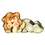 Lális - Bebê Leão Dorminhoco