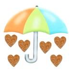 Lális - Guarda Chuva e Corações