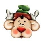 Lális - Rostinho de Rena de Natal