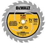 "Lâmina / Disco para Serra Circular Dewalt Flexvolt 7.1/4"" 24D - 3 Peças - DWAFV37243 DWAFV3724"