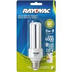 Lâmpada Eletrônica 15w Compacta Rayovac 127v Branca