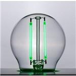 Lampada Filamento Colorido E27 Mini Bulbo 2w Verde Led Stella Sth6340/vd