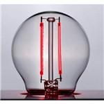 Lampada Filamento Colorido E27 Mini Bulbo 2w Vermelho Led Stella Sth6340/vm