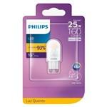 Lâmpada Led 1,5W G9 2700K 160lm ND LG91.5-25WMVS Philips