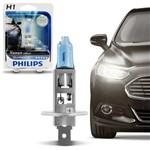 Lâmpada Philips Super Branca Blue Vision H1 4000K 55W Efeito Xênon