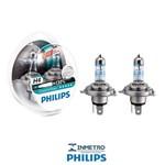Lâmpadas Farol GM Marajo Philips H4 XtremeVision