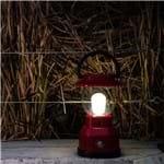 Lampião LED General Electric Vermelho, Ultra Resistente, 350 Lumens, Até 180 Horas, 3 Níveis de Luz