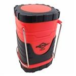 Lampião Vermelho Prático de Led Retrátil a Pilha - Brasfort