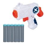 Lançador de Dardos - X-shot Micro - Branco - Candide
