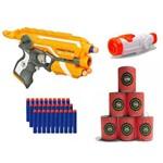 Lançador Firestrike Nerf Hasbro Scope Alvo 30 Dardos
