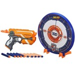 Lançador NERF N-Striker Elite com Alvo - Precision Target Set - Hasbro