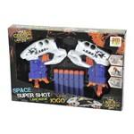 Lançador Super Shot Space Jogo com 02 Shots - DM Toys
