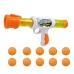 Lançador Super Shot Sport - 10 Bolas - Dm Toys