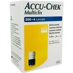 Lancetas Accu-Chek Multiclix 200+4 - Roche