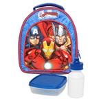 Lancheira Avengers Ultimate Xeryus Azul Azul Único
