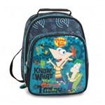 Lancheira Escolar Infantil Térmica Phineas e Ferb Disney