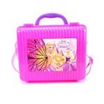 Lancheira Escolar Injetada Barbie Butterfly Ba4302 Primicia