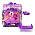 Lancheira Escolar Térmica Infantil Mônica Princesa Rapunzel - Pacific