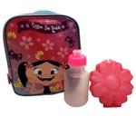 Lancheira Escolar Térmica Infantil Rosa Show da Luna Primavera - Pacific