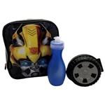 Lancheira Escolar Térmica Infantil Transformers Strong Bumblebee - Pacific