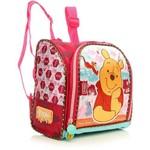 Lancheira Infantil Tilibra Luxo Pink Estampada Turma do Pooh