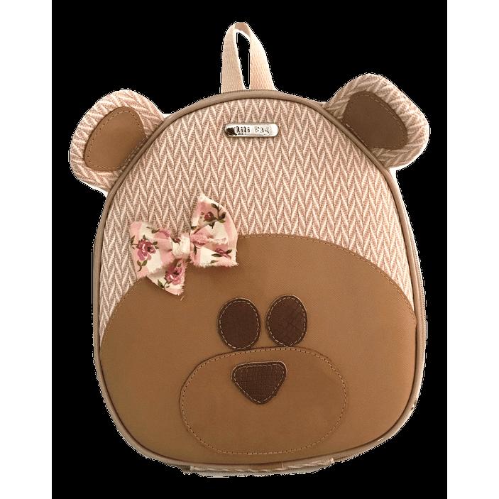 Lancheira Infantil Urso Rosa - LiliBag