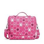 Lancheira Kichirou Flex Pink Dog Tile Kipling
